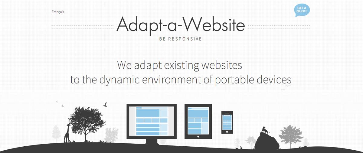 Adapt a Website