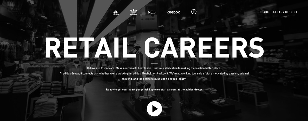 Adidas Group Retail Careers