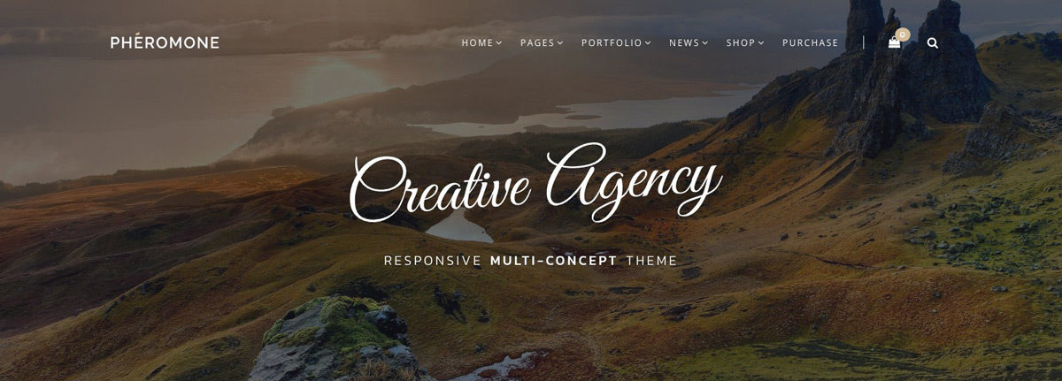 Pheromone Creative Agency Theme