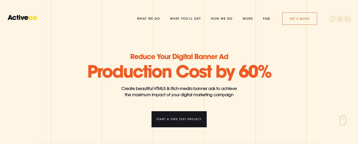 Activeoo Banner Ads