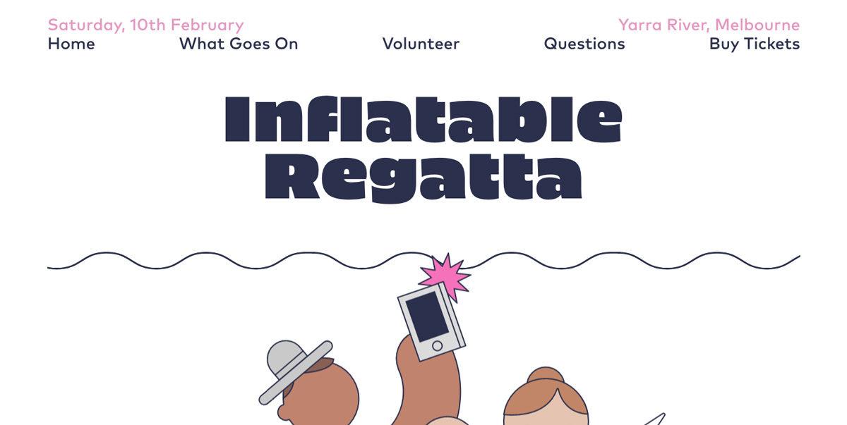 Inflatable Regatta