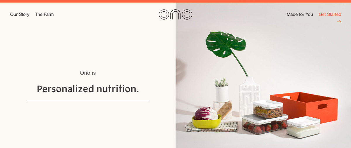 Ono - Personalized Nutrition