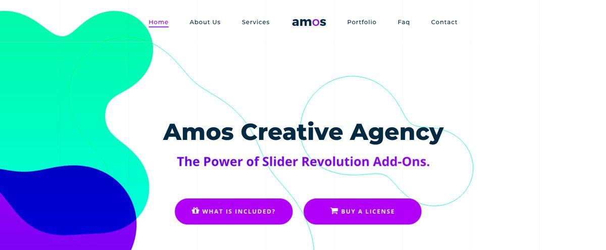 Amos Creative Agency WordPress Theme