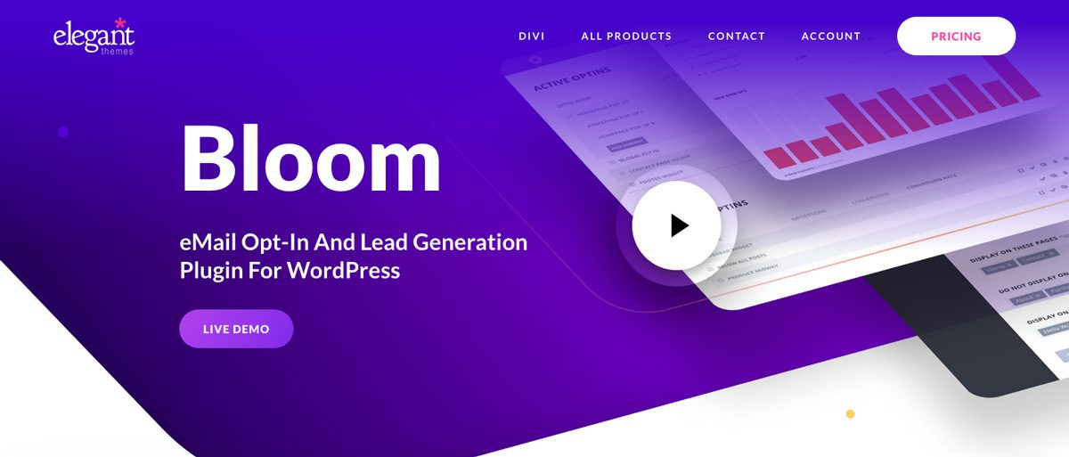 Bloom WordPress Email Plugin