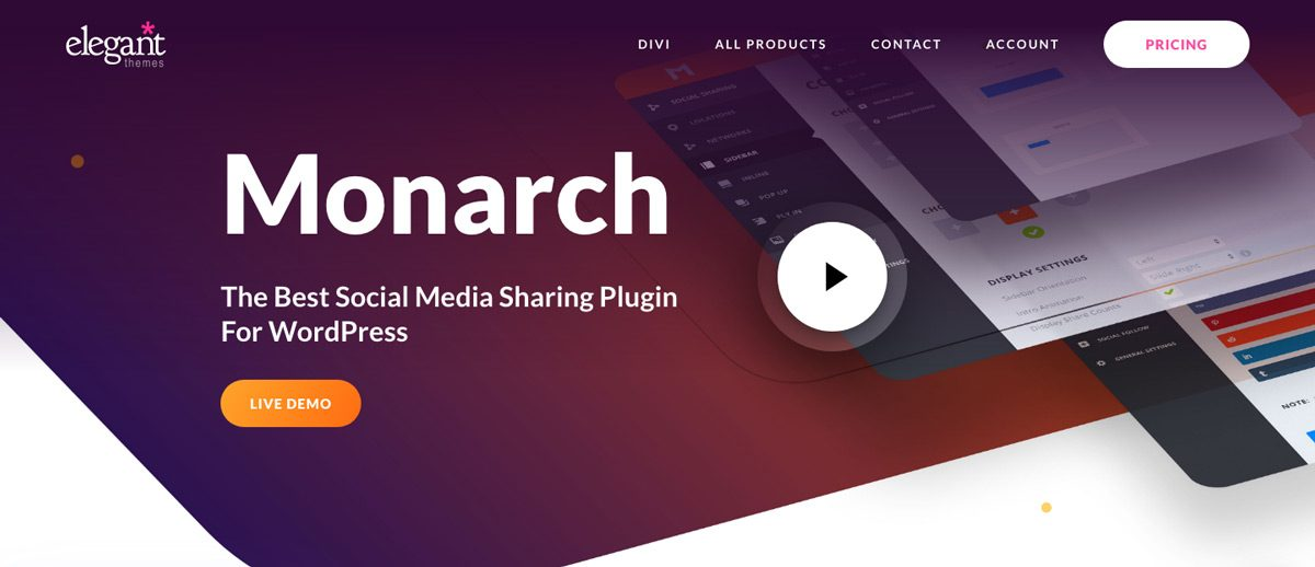 Monarch WordPress Social Plugin