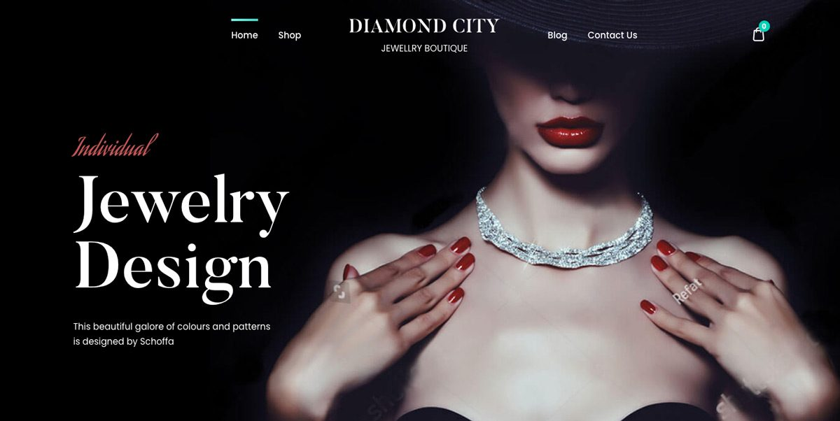 DiCi Jewelry WordPress Theme
