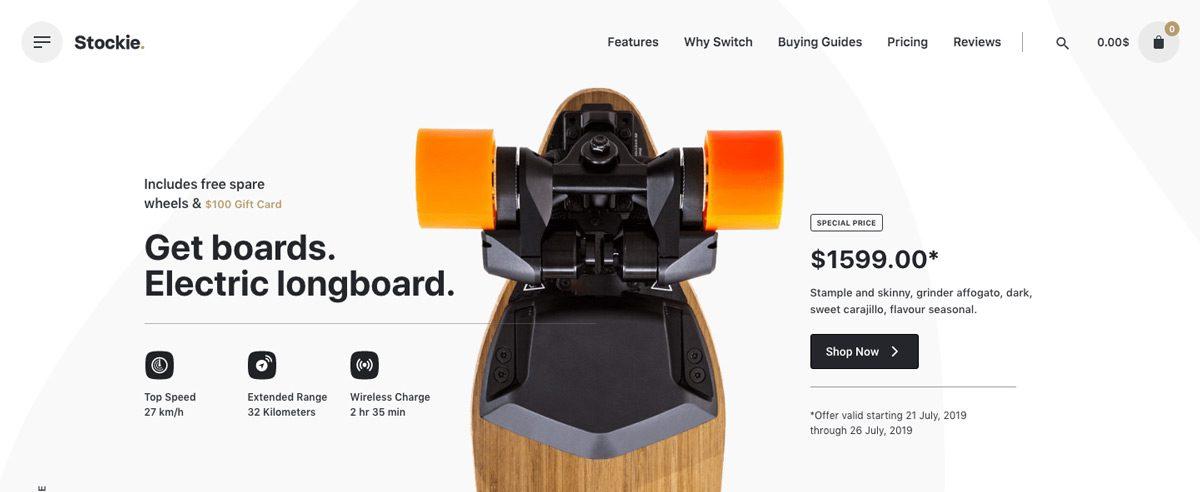 Stockie WordPress eCommerce Theme