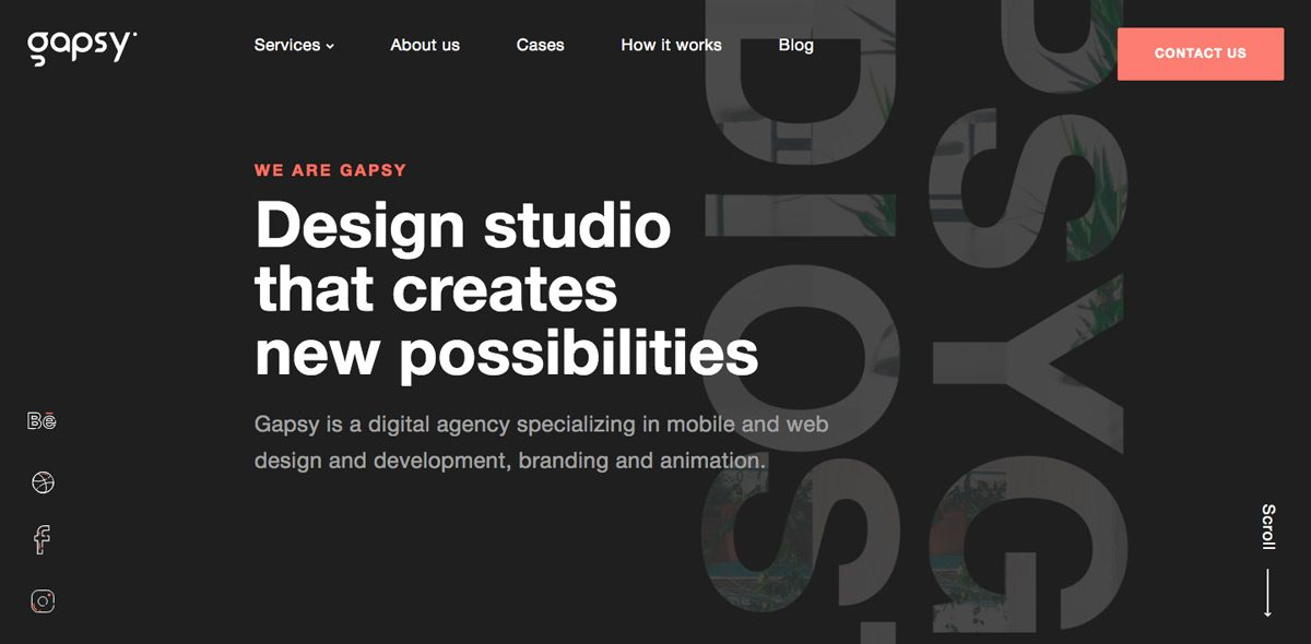 Gapsy Creative Design Studio