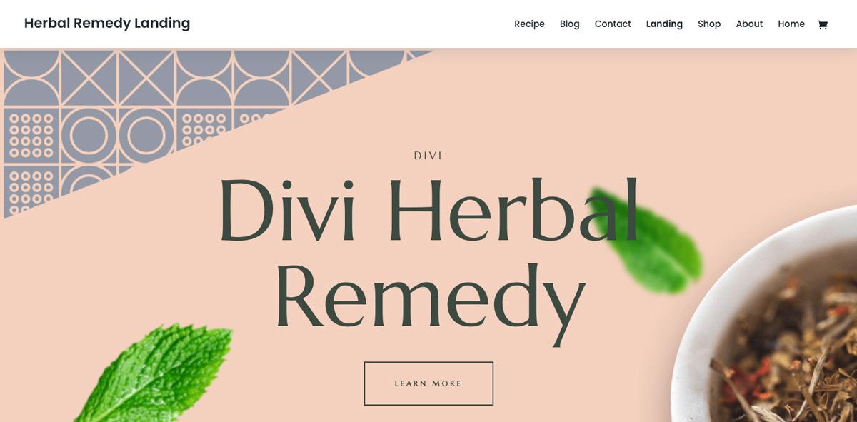 Herbal Remedy WordPress Theme