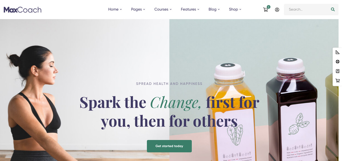 Health Coaching WordPress Theme