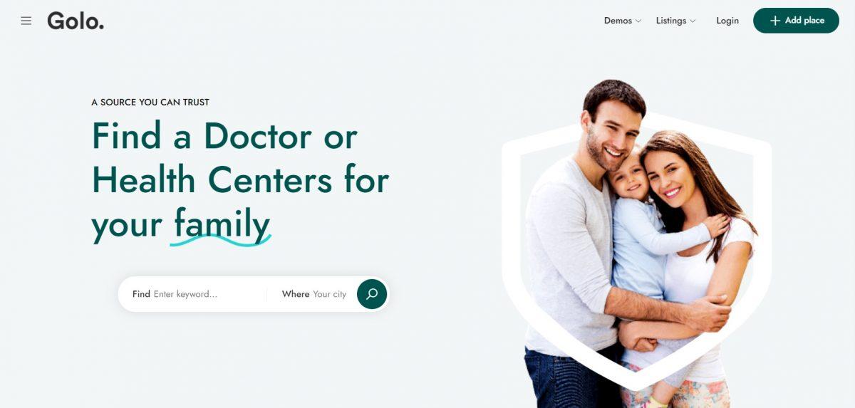 Golo WordPress Medical Theme